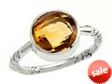 Balissima By Effy Collection Sterling Silver Citrine Ring style: 520380