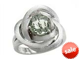 Balissima By Effy Collection Sterling Silver Green Amethyst Ring style: 520381