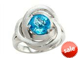 Balissima By Effy Collection Sterling Silver Blue Topaz Ring style: 520383