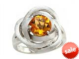 Balissima By Effy Collection Sterling Silver Citrine Ring style: 520385