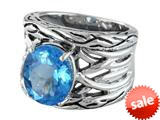 Balissima By Effy Collection Sterling Silver Blue Topaz Ring style: 520388