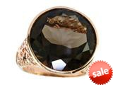 Effy Collection 14k Rose Gold Smoky Quartz Ring style: 520390