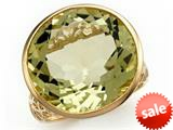 Effy Collection 14k Yellow Gold Lemon Quartz Ring style: 520394