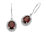 Genuine Garnet Earrings by Effy Collection® style: 520001