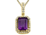 Genuine Amethyst Pendant by Effy Collection® style: 520029