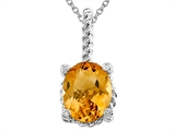 Genuine Citrine Pendant by Effy Collection® style: 520034