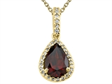 Genuine Garnet Pendant Necklace by Effy Collection® style: 520050