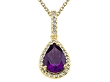 Genuine Amethyst Pendant by Effy Collection® style: 520051