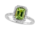 Genuine Peridot Ring by Effy Collection® style: 520066