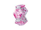 Zable™ Sterling Silver Pink Hexagons Bead / Charm style: BZ1152