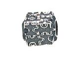 Zable™ Sterling Silver Autism Puzzle Bead / Charm style: BZ1452