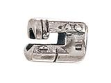 Zable™ Sterling Silver Sewing Machine Bead / Charm style: BZ1739