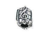 Zable™ Sheet Music Bead / Charm style: BZ2071