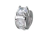 Zable™ Sterling Silver Engagement Ring Bead / Charm style: BZ2103