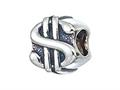 Zable™ Sterling Silver Dollar Sign Bead / Charm