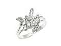 Sterling Silver Fairy Toe Ring