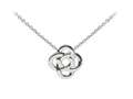 Wind And Fire Celtic Knot Dainty Pendant Necklace With 18 Inch Adjustable Chain