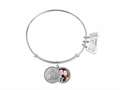 Wind And Fire Love Collection Expandable Love Locket Bangle