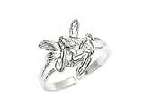 Sterling Silver Fairy Toe Ring style: CGSS323CD