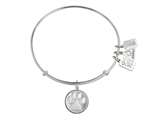 Wind And Fire Expandable Bangle Paw Print style: CGWF206S