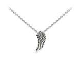 Wind And Fire Angel Wing Dainty Pendant Necklace With 18 Inch Adjustable Chain style: CGWF3201S