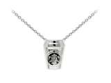Wind And Fire Coffee Cup Dainty Pendant Necklace With 18 Inch Adjustable Chain style: CGWF3217S