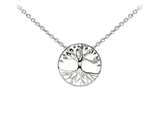 Wind And Fire Tree Of Life Dainty Pendant Necklace With 18 Inch Adjustable Chain style: CGWF3236S