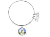 Wind And Fire Pet Collection Expandable Bangle With Poodle Photo Charm style: CGWF759S