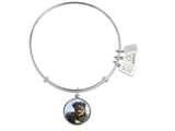Wind And Fire Pet Collection Expandable Bangle With Rottweiler Photo Charm style: CGWF760S