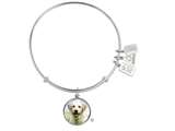Wind And Fire Pet Collection Expandable Bangle With Yellow Lab Photo Charm style: CGWF761S