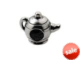 Zable™ Sterling Silver Teapot Bead / Charm style: BZ0320CD