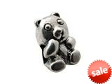 Zable™ Sterling Silver Teddy Bear Bead / Charm style: BZ0321