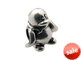 Zable™ Sterling Silver Penguin Bead / Charm style: BZ0328