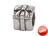 Zable™ Sterling Silver Gift With Bow Bead / Charm style: BZ0363A