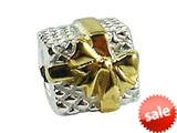 Zable™ Sterling Silver Gift Box Bead / Charm style: BZ0646