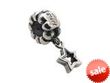 Zable™ Sterling Silver Dangle Star Bead / Charm style: BZ0707
