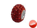 Zable™ Pave Swarovski Crystal Bead January Bead / Charm style: BZ1070