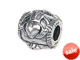 Zable™ Sterling Silver Claddaugh Compatible Bead / Charm style: BZ1420