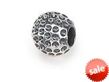 Zable™ Sterling Silver Golf Ball Bead / Charm style: BZ1441CD