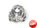 Zable™ Sterling Silver Crab Bead / Charm style: BZ1445