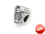 Zable™ Sterling Silver Popular Coffee Cup Pandora Compatible Bead / Charm style: BZ1450