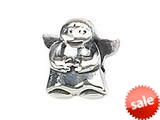 Zable™ Sterling Silver Angel Bead / Charm style: BZ1474