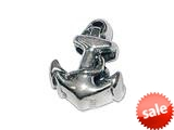 Zable™ Sterling Silver Anchor Bead / Charm style: BZ1481V2