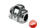 Zable™ Sterling Silver Designer Pocketbook Bead / Charm style: BZ1487