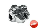 Zable™ Sterling Silver Airplane Bead / Charm style: BZ1770