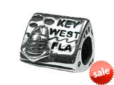 Zable™ Sterling Silver Key West Pandora Compatible Bead / Charm style: BZ1776