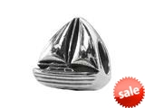 Zable™ Sterling Silver Sailboat Bead / Charm style: BZ1944