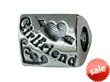Zable™ Sterling Silver Girlfriend Bead / Charm style: BZ2038