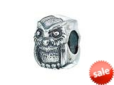 Zable™ Sterling Silver Owl Pandora Compatible Bead / Charm style: BZ2055