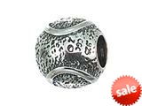 Zable™ Sterling Silver Tennis Ball Compatible Bead / Charm style: BZ2144